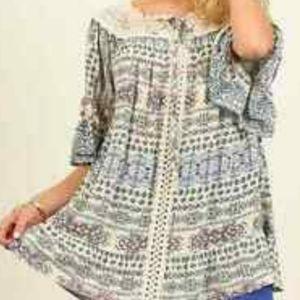 Umhee boho tunic size large